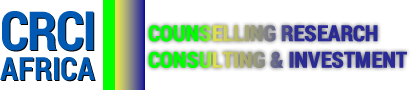 COUNSELLING RESEARCH CONSULTING INVESTMENT